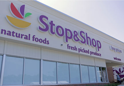 25 A&P stores in the Greater New York area will be rebranded under the Stop&Shop banner