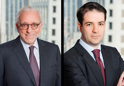 Nelson Peltz (left) and Josh Frank (right) have been added to Sysco Corp.'s board of directors.