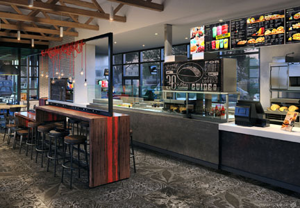 Taco Bell's Urban Edge concept takes its inspiration from international and street styles.