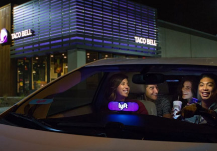Taco Bell partners with Lyft to offer