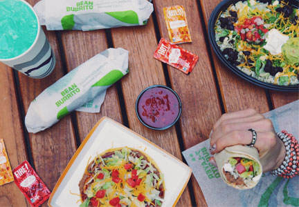 Taco Bell's new vegetarian menu includes 13 AVA-certified menu items, including a 7-Layer Burrito and Cantina Power Veggie Bowl.