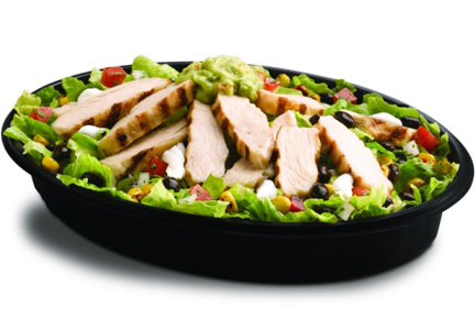 Taco Bell chicken cantina power bowl