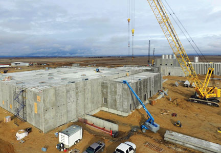 A new beef processing plant in Kuna, Idaho is now becoming a reality.
