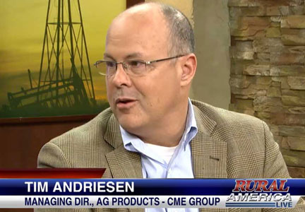 Tim Andriesen, CME Group