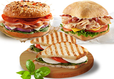 Tim Hortons has launched a new line of premium sandwiches.