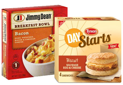 Tyson Foods frozen breakfast, Jimmy Dean