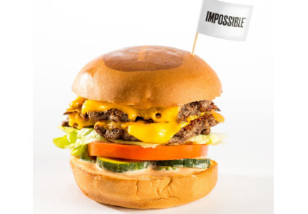 Impossible Burger at Umami Burger