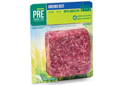 PRE Brands sells only 100 percent grass-fed beef.