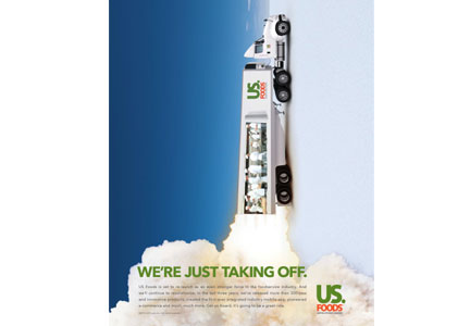 US Foods Just Taking Off poster