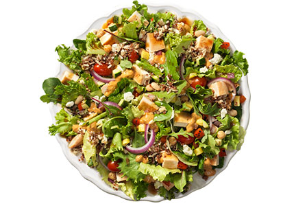 Wendy's POWER MEDITERRANEAN CHICKEN SALAD